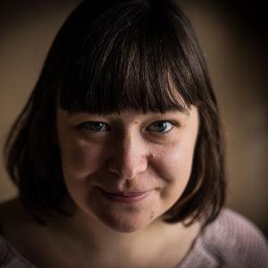 Yle Östnylands reporter Bettina Aspfors
