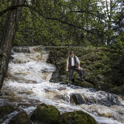 Ulf Johansson gör rollen som Egon Nilsson. (Foto: Johanna Överfors)