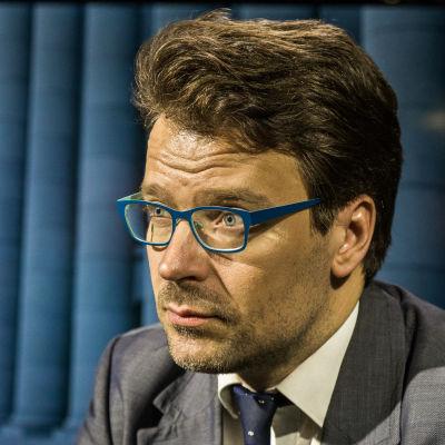 De Grönas ordförande Ville Niinistö