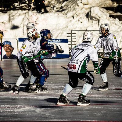 Botnia - Akilles, bandyligans final 2016.