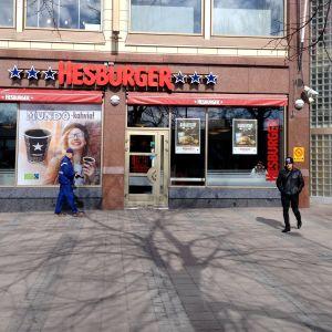 Borgå Hesburger i köpcentret Lundi.