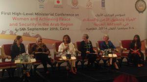 Konferens i Kairo.