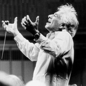 Kapellimestari Leonard Bernstein
