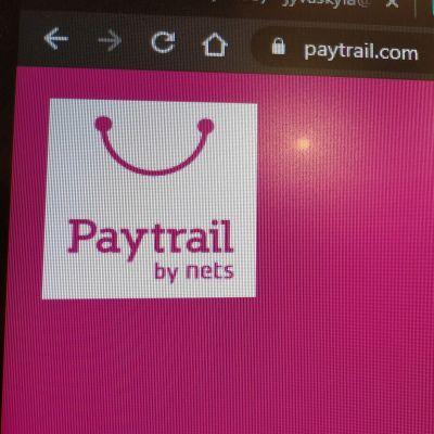 Paytrailin verkkosivun ylälaita.
