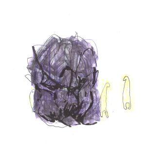 abstrakt illustration av svartsjuka