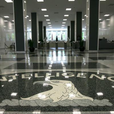 CIA:s högkvarter i Langley i Virginia 14.8.2008