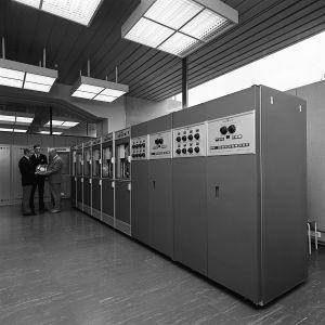 GE 415-16-dator i Yles ADB-central år 1968.