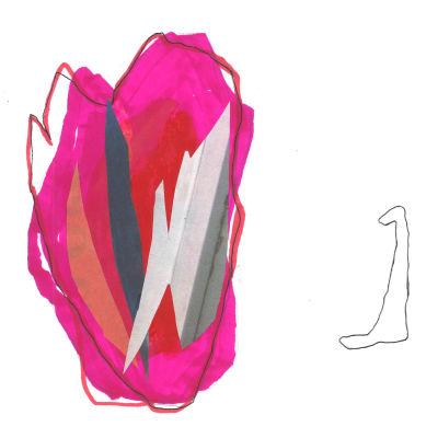 abstrakt bild av en kropp som ser på ett hjärta