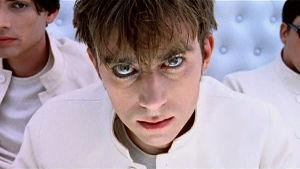 Video Killed the Radio Star, ohjelmasarja musiikkivideoista. Kuva Blurin musiikkivideosta The Universal.