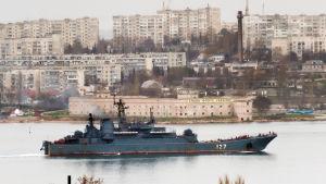 Krigsfartyg vid Krim