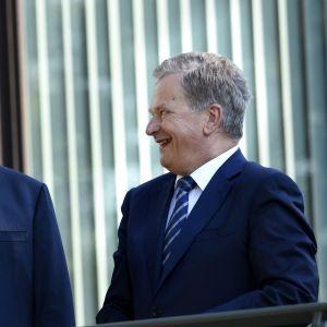 Sauli Niinistö och Donald Trump