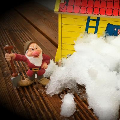 Leksaker och snö