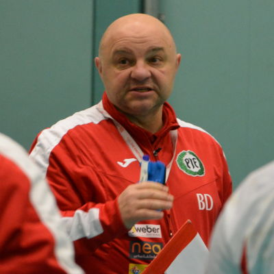 Boris Dvorsek, PIF-tränare, januari 2018.