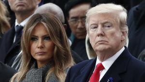 President Donald Trump omplacerade sin biträdande nationella säkerhetsrådgivare Mira Ricardel på begäran av sin fru Melania Trump
