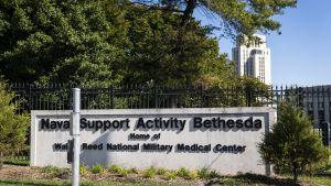 Militärsjukhuset Walter Reed National Military Medical Center nära Washington