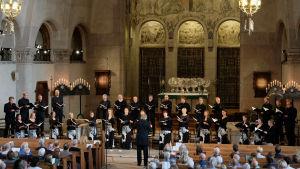 Radiokören (SR) i Engelbrektskyrkan i STockholm den 15 september 2018, dirigent Tõnu Kaljuste