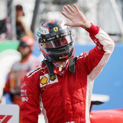 Kimi Räikkönen i Monza.