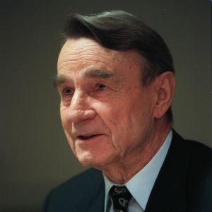 presidentti Mauno Koivisto.