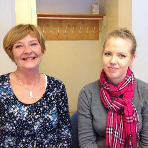 Margita Uddström och Katrin Virta