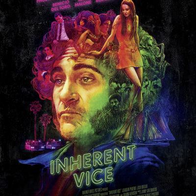 Filmplansch för Inherent Vice.