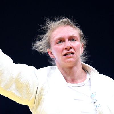 Jaana Sundberg, judoka, 2013.