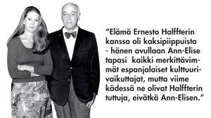 Ann-Elise Hannikainen ja Ernesto Halffter