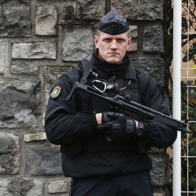 Arkivbild: Fransk polis.