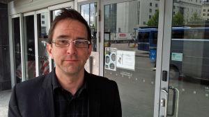 Timo Hämäläinen, utvecklingsingenjör vid Avfallsverksföreningen