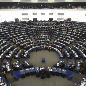Europaparlamentets plenarsammanträde i Strasbourg.