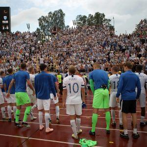Finland spelar sina två följande hemmamatcher i Tammerfors.