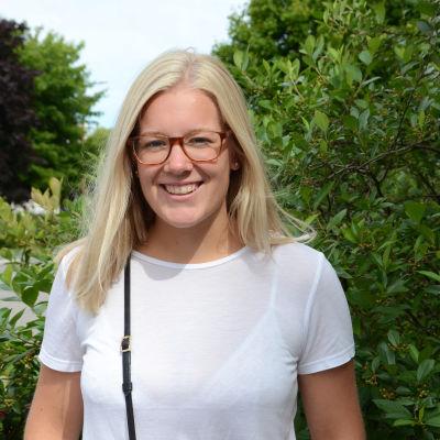 Emma Björklund som studerar för att bli speciallärare.