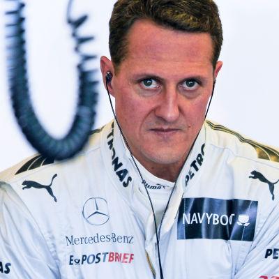 Formel 1-föraren Michael Schumacher.