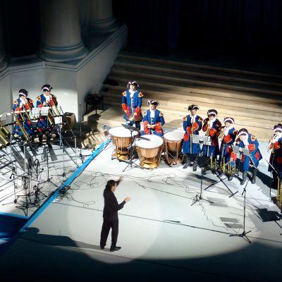 Russian Horn Orchestra, kapellimestari Sergei Poljanitsko.