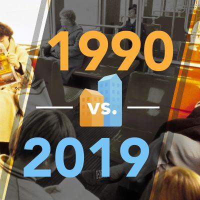 Suomi vuonna 1990 versus 2019 jutun pääkuva