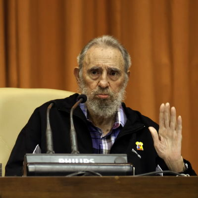 Fidel Castro år 2012.