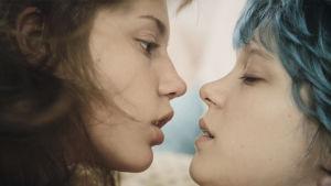 Nuoren Adelen (Adele Exarchopoulos) elämä muuttuu kun hän tapaa sinitukkaisen Emman (Léa Seydoux)