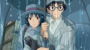 Kuva Hayao Miyazakin animaatioelokuvasta Tuuli nousee.