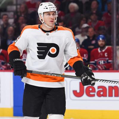Jori Lehterä har spelat i Flyers sedan hösten 2017.