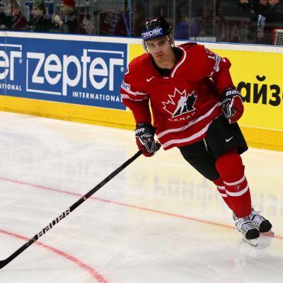 René Bourque i Kanadas tröja