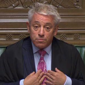 John Bercow, underhusets talman
