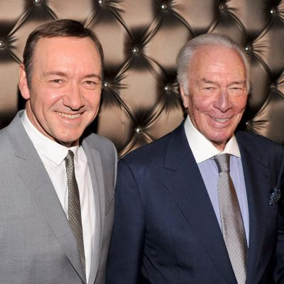 Kevin Spacey och Christopher Plummer 2013.