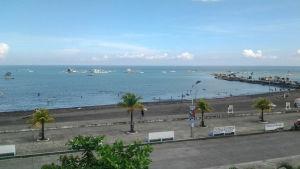 Dipologin rantaa bulevardilta katsottuna