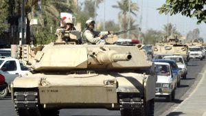 Amerikans pansarvagn av modellen M1 Abrams