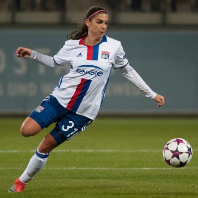 Alex Morgan kan vinna Champions League med Lyon.