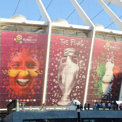 Spanien och Italien gjorde upp om EM-titeln i Kiev 2012.
