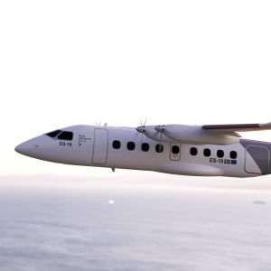 Ruotsalainen Heart Aerospacen suunnittelema sähkölentokone, p valmistaa sähkölentokoneita, jonka toivotaan aloittavan matkustajalennot vuoteen 2025 mennessä