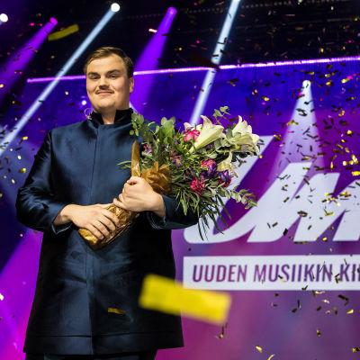 Aksel Kankaanranta UMK20-voittaja.