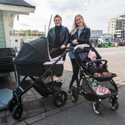 Rebekka Ojala ja Anni Riihentupa, Tampere.