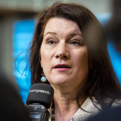 Sveriges utrikesminister Ann Linde.