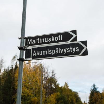 Tampereen asumispäivystys ja asumisyksiköt yksikkö Hervannassa.